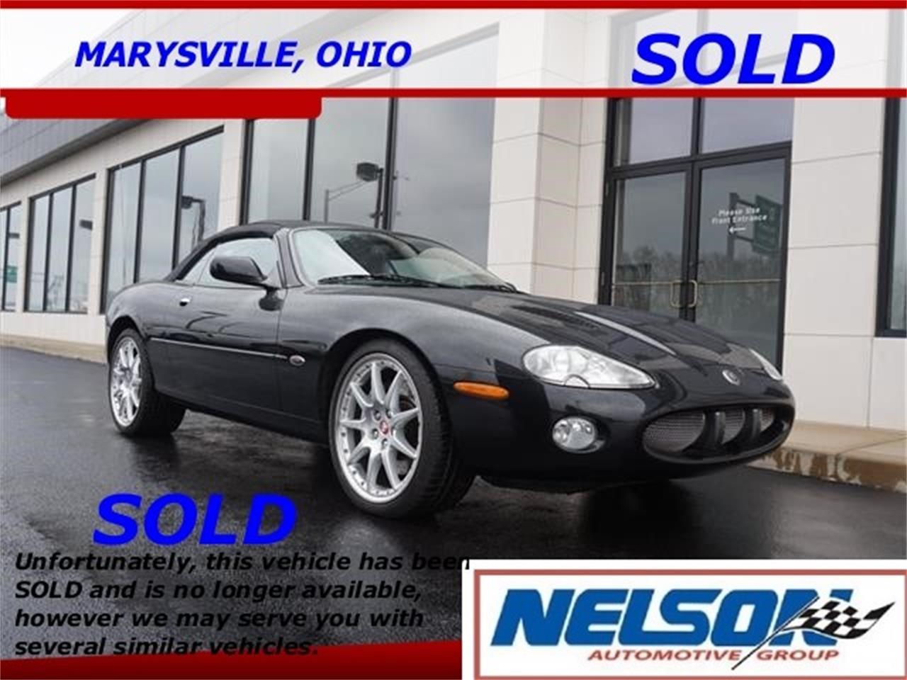 For Sale: 2002 Jaguar XKR in Marysville, Ohio