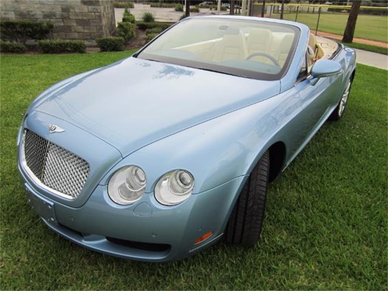 Large Picture of '08 Bentley Continental GTC located in Delray Beach Florida Offered by Autosport Group - LATV