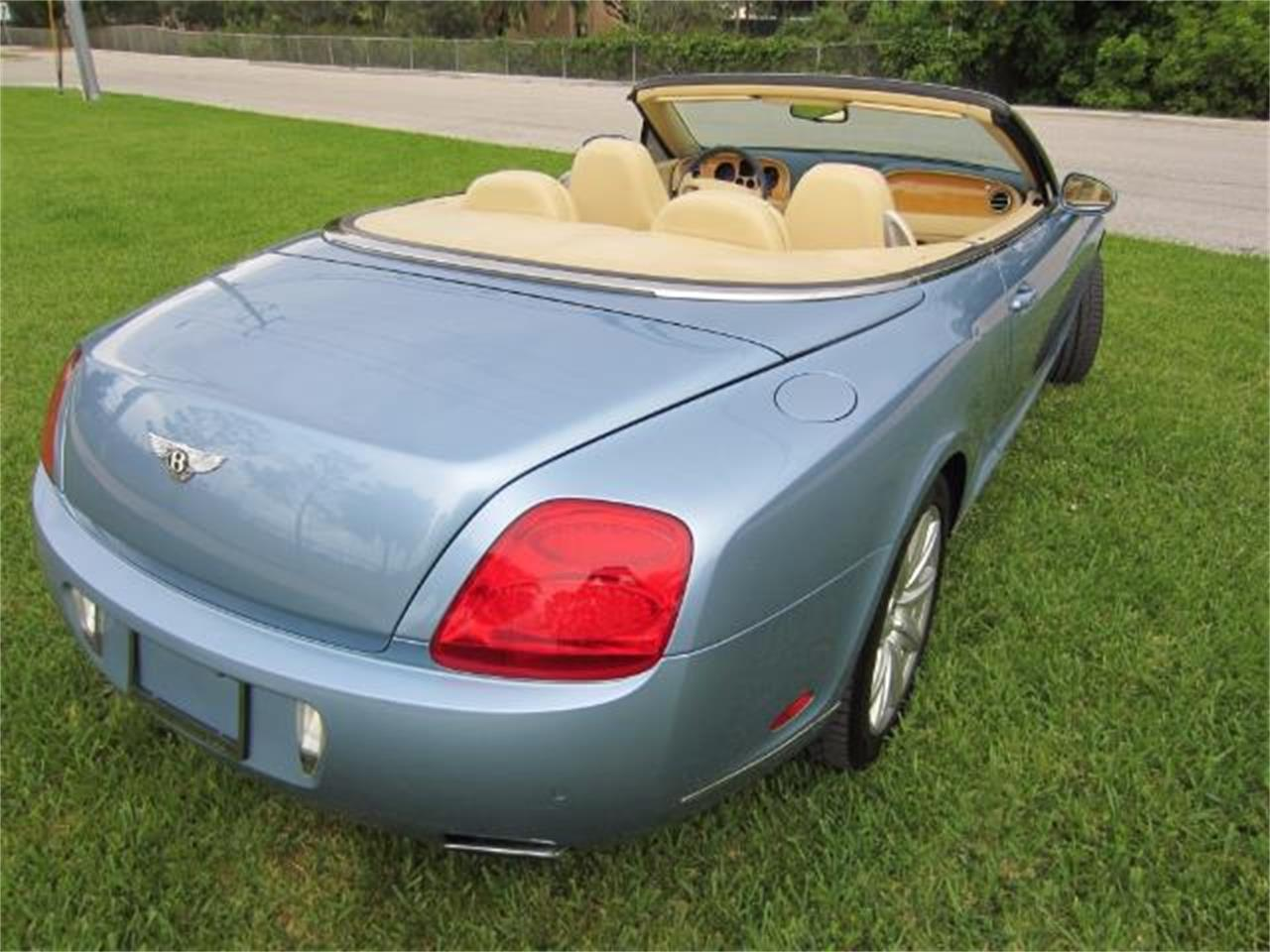 Large Picture of '08 Bentley Continental GTC located in Delray Beach Florida Auction Vehicle Offered by Autosport Group - LATV