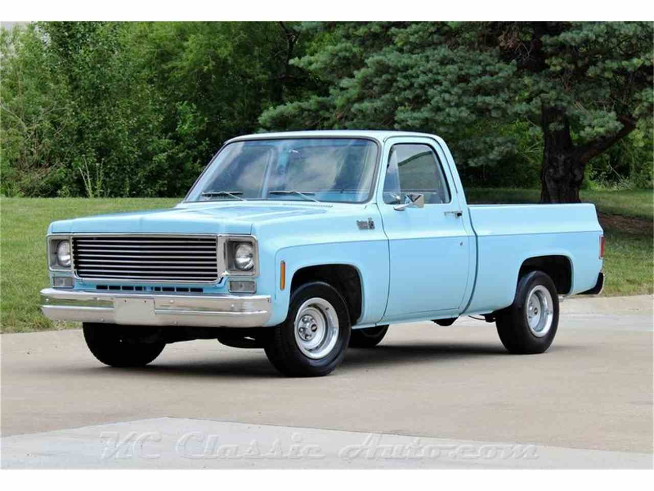 1977 Chevrolet C10 Heavy Chevy Half Ton Hd Like New For