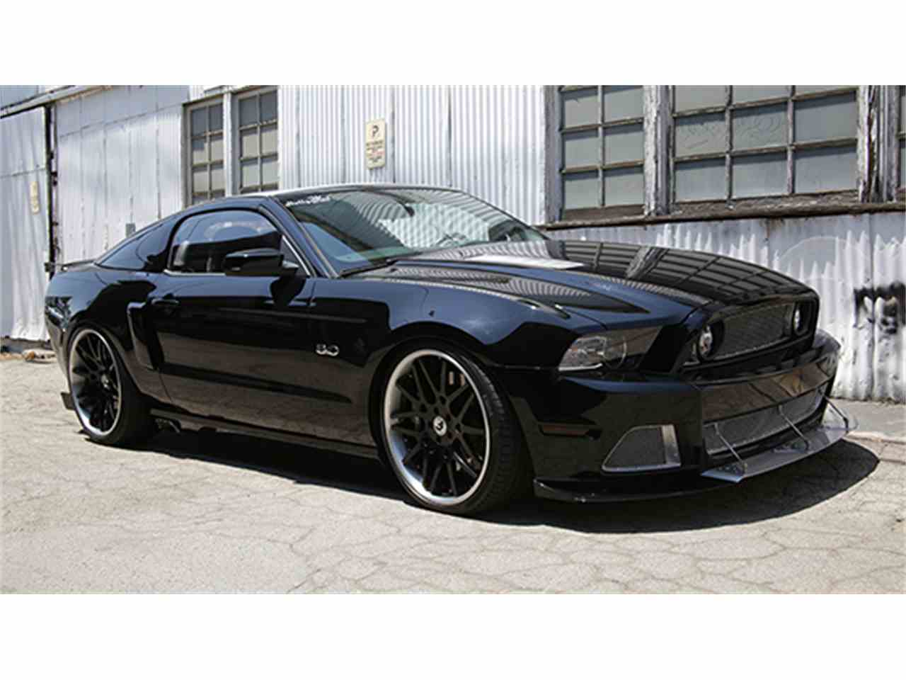 2014 ford mustang gt custom by hollywood hot rods for sale cc 990390. Black Bedroom Furniture Sets. Home Design Ideas