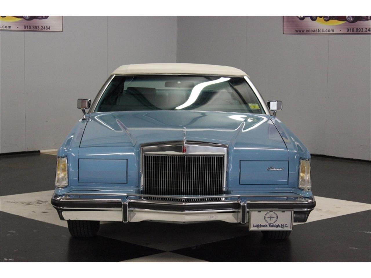 Large Picture of '78 Continental Mark V - LAWM