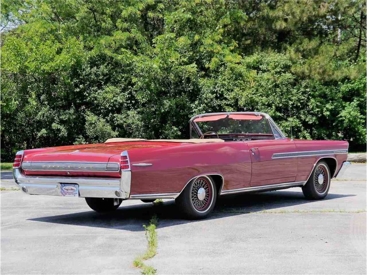 Large Picture of Classic 1963 Pontiac Bonneville located in Illinois Offered by Midwest Car Exchange - LAZG