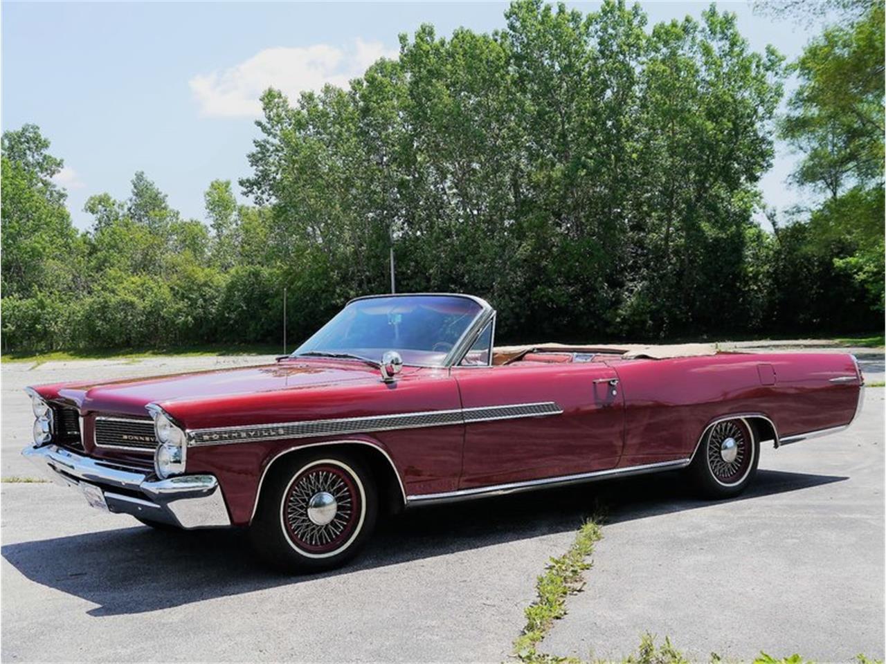 Large Picture of Classic 1963 Pontiac Bonneville located in Alsip Illinois - LAZG