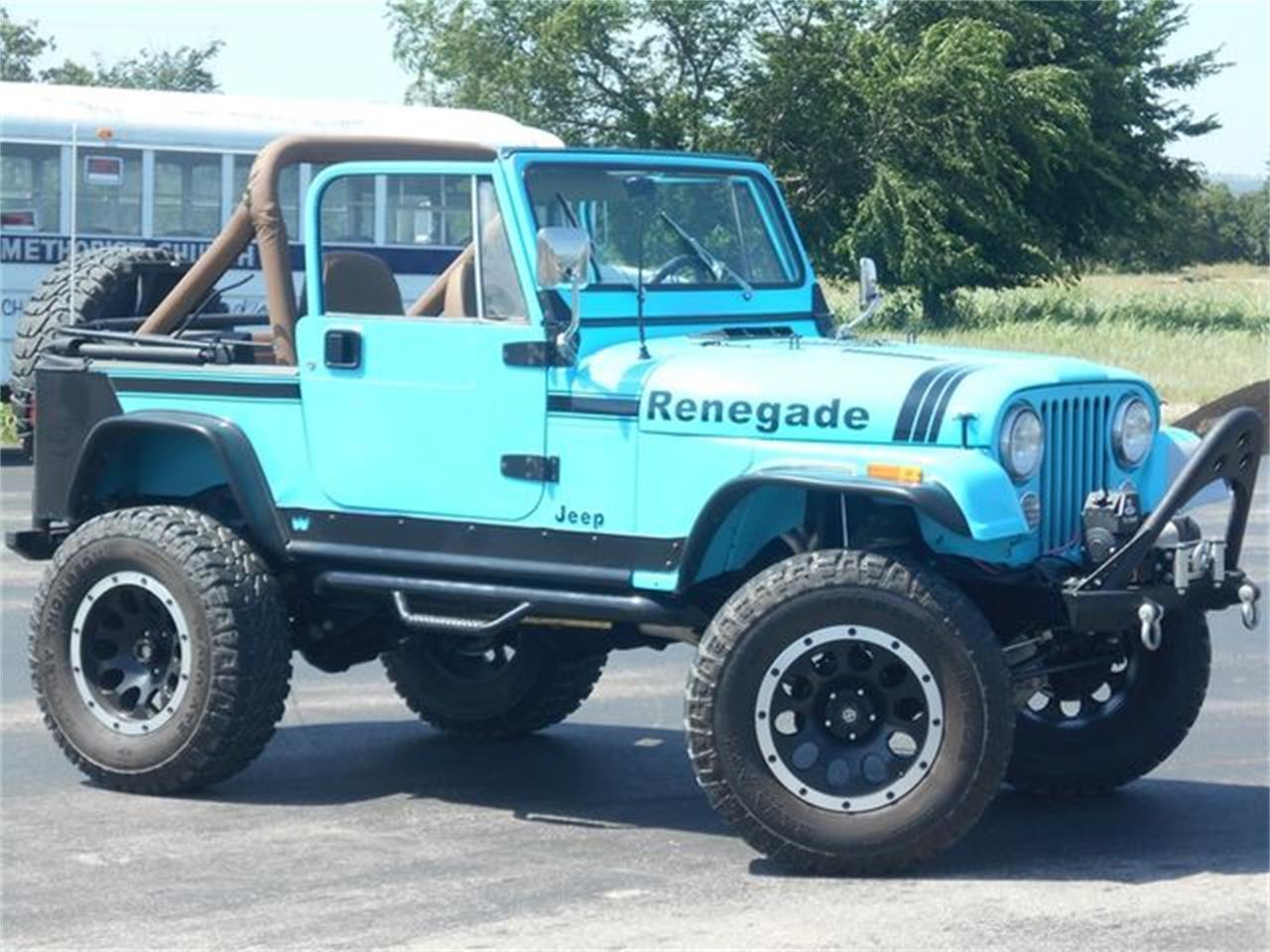 Cj7 Jeep For Sale >> For Sale 1980 Jeep Cj7 In Blanchard Oklahoma