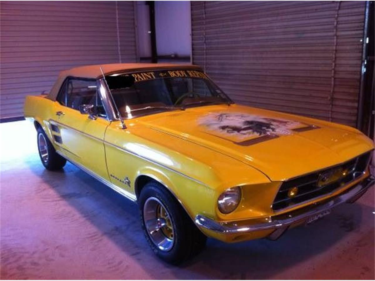 Large Picture of '67 Mustang - LB0M