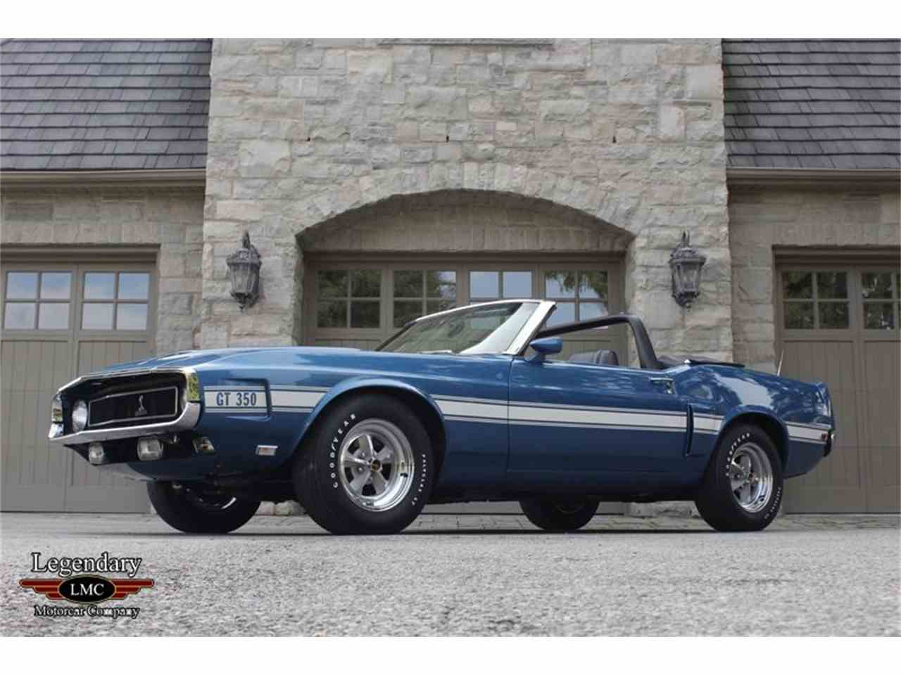 Large Picture of Classic 1969 Shelby GT350 located in Halton Hills Ontario - $145,000.00 Offered by Legendary Motorcar Company - LB22