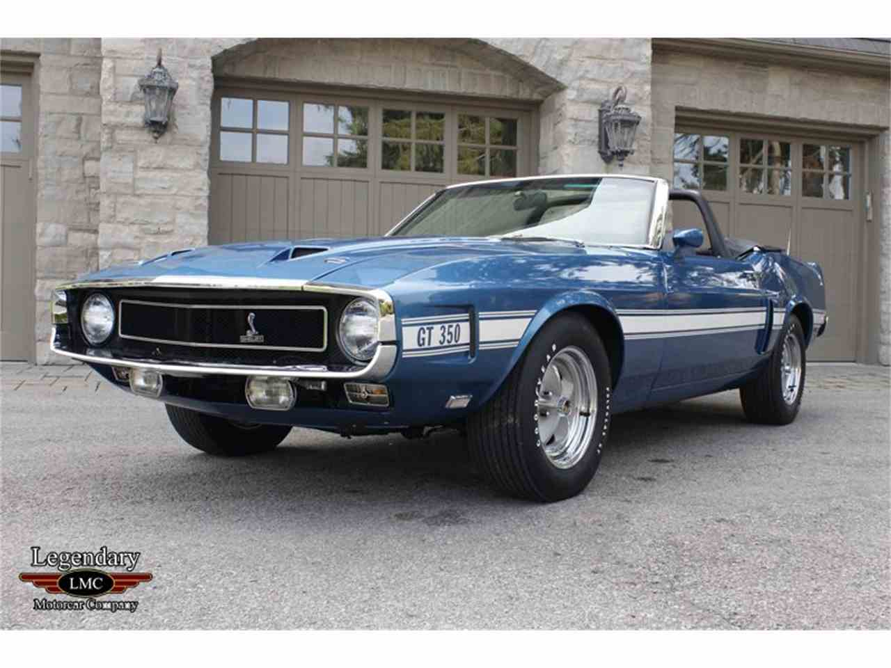 Large Picture of 1969 Shelby GT350 - $145,000.00 Offered by Legendary Motorcar Company - LB22