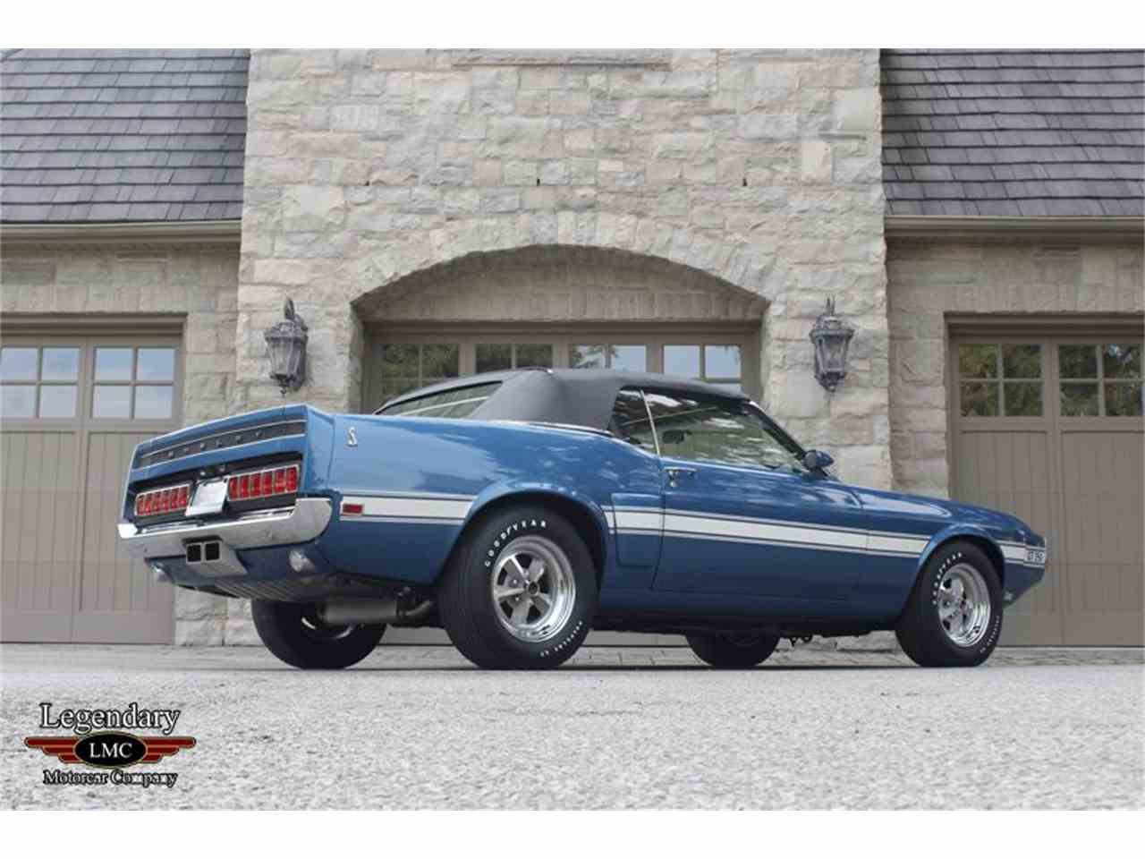 Large Picture of 1969 Shelby GT350 located in Halton Hills Ontario - $145,000.00 Offered by Legendary Motorcar Company - LB22