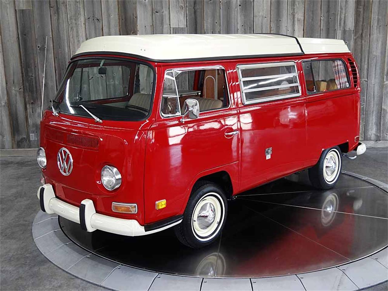1970 Volkswagen Westfalia Camper Van Camper For Sale