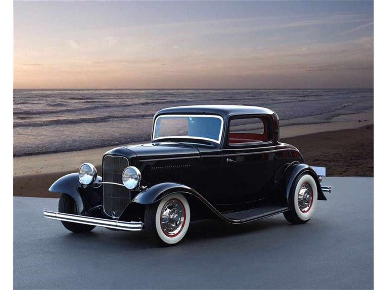 Large Picture of Classic 1932 3-Window Coupe located in Brea California Auction Vehicle - LB89
