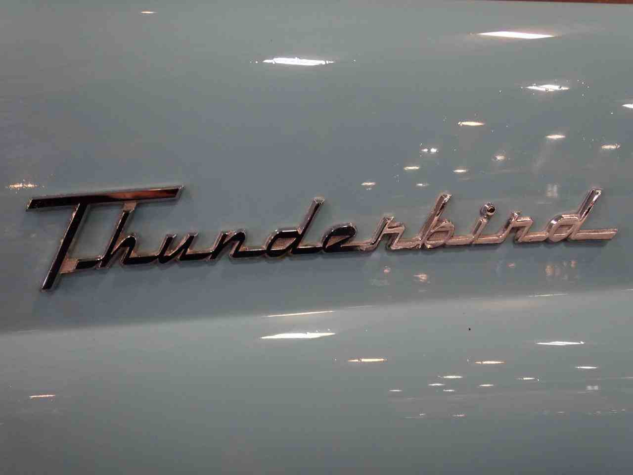 Large Picture of '56 Thunderbird - LBDH