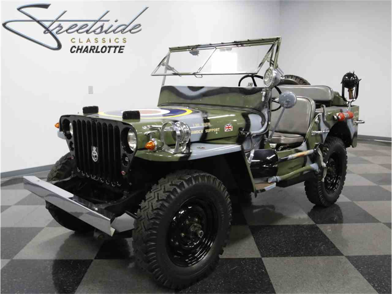 Military Jeeps For Sale >> 1945 Willys Mb Military Jeep For Sale Classiccars Com Cc 990465