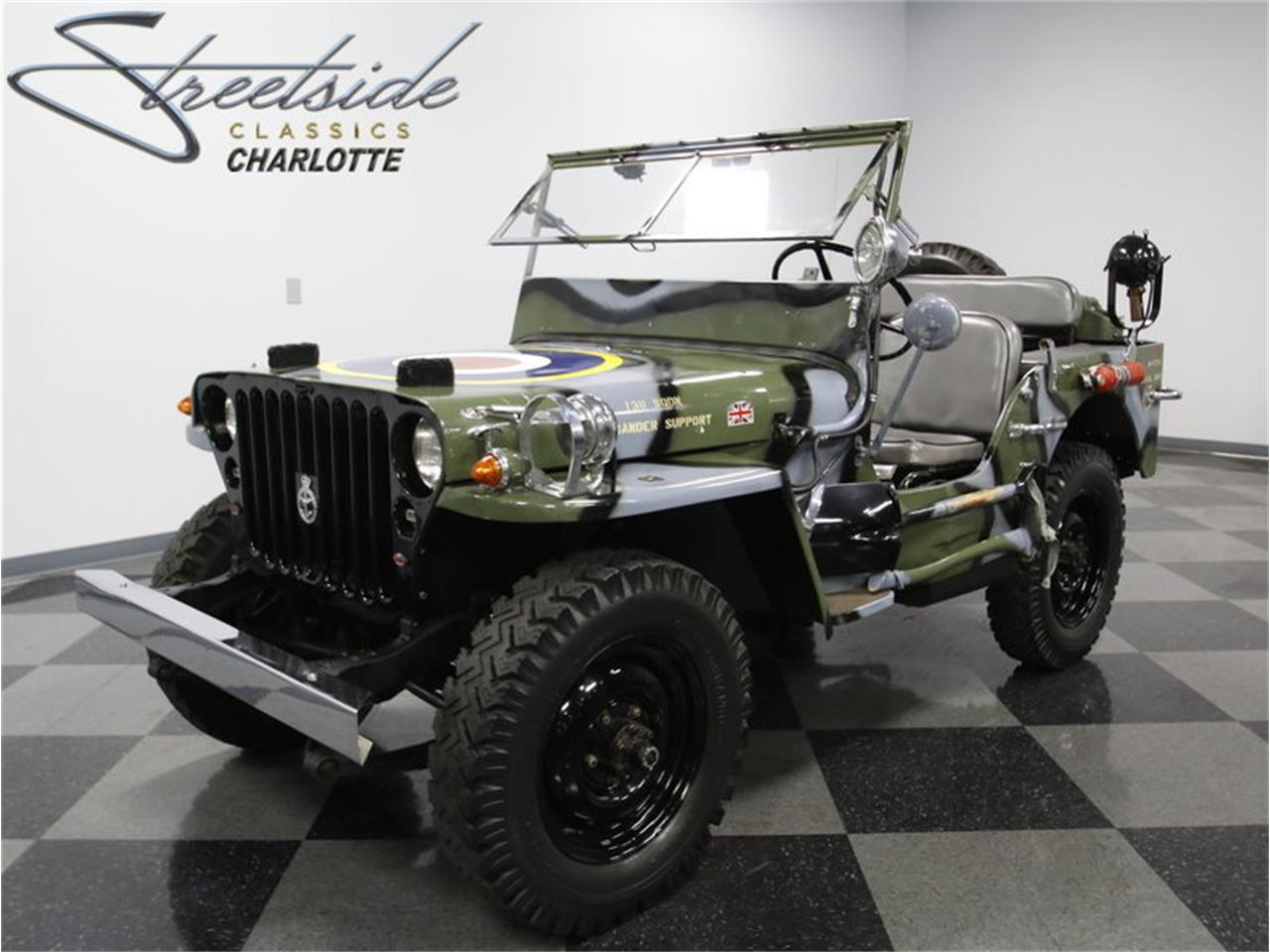 Military Jeep For Sale >> For Sale 1945 Willys Mb Military Jeep In Concord North Carolina