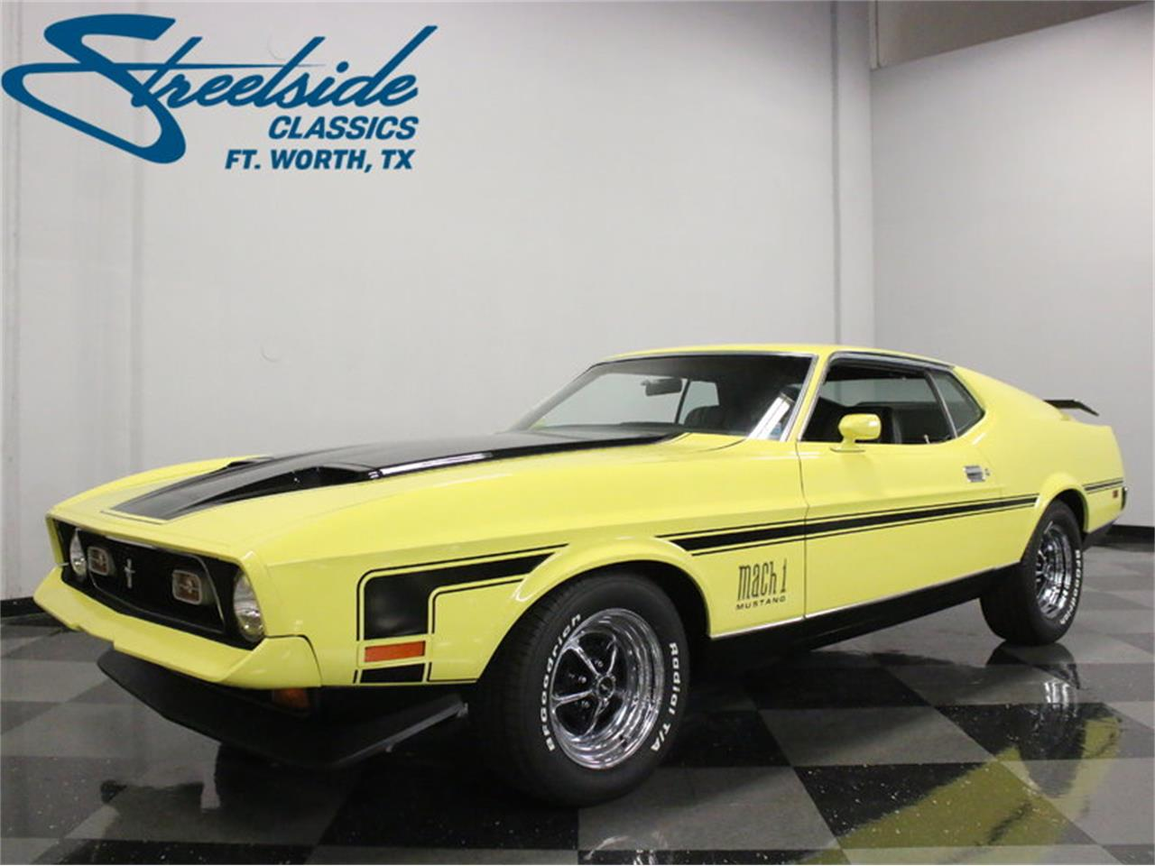 For sale 1971 ford mustang mach 1 cobra jet in ft worth texas