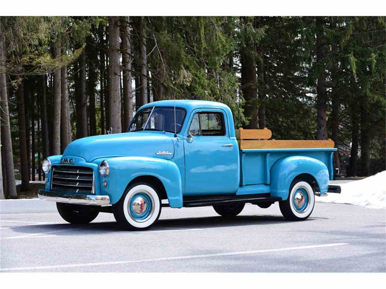 1951 gmc 3 4 ton pickup for sale cc 994977. Black Bedroom Furniture Sets. Home Design Ideas