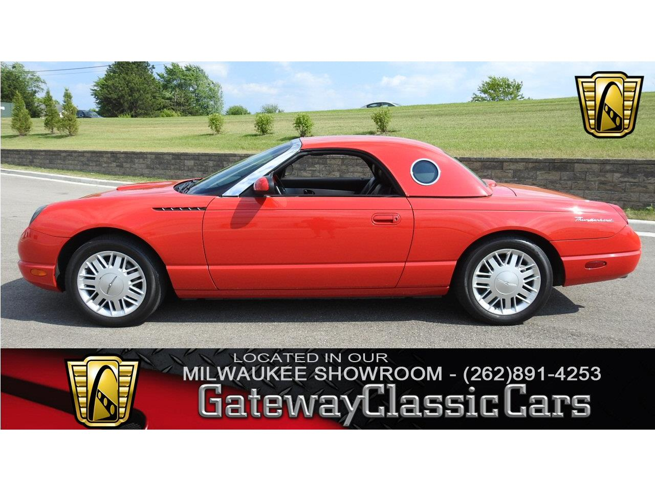 Large Picture of 2002 Ford Thunderbird located in Kenosha Wisconsin - $19,995.00 Offered by Gateway Classic Cars - Milwaukee - LBSH