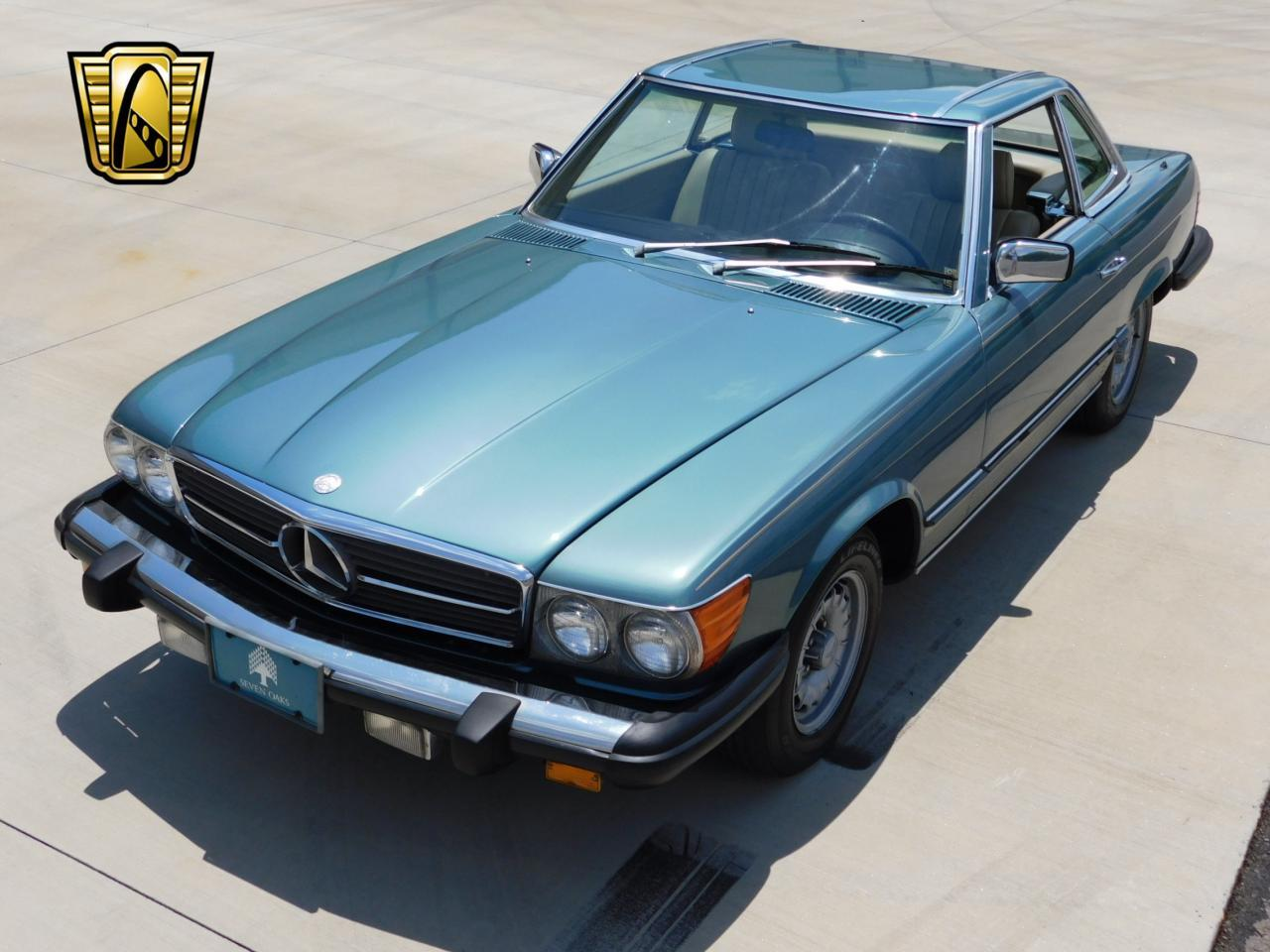 Large Picture of 1985 Mercedes-Benz 380SL located in Alpharetta Georgia - $13,595.00 Offered by Gateway Classic Cars - Atlanta - LBSX