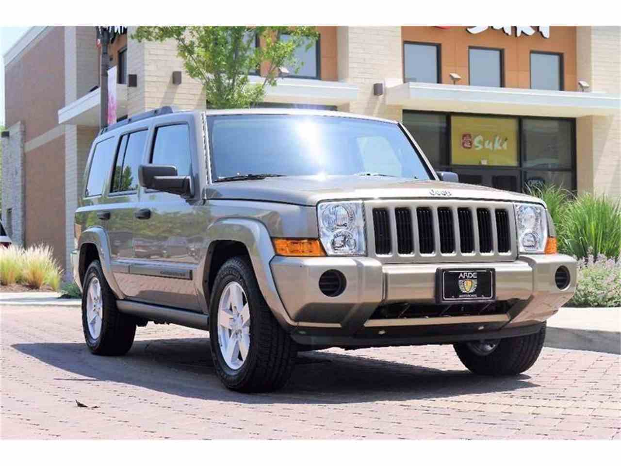 Large Picture of '06 Jeep Commander located in Brentwood Tennessee - LBTI
