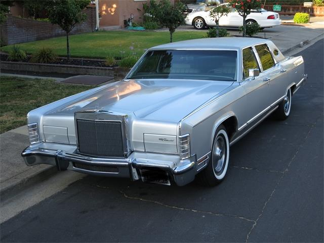 1978 to 1980 lincoln continental for sale on classiccars. Black Bedroom Furniture Sets. Home Design Ideas