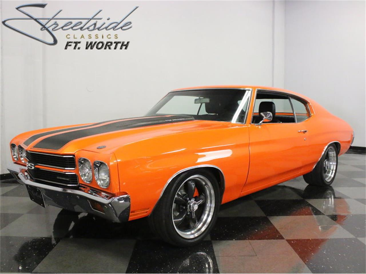 Large Picture of Classic 1970 Chevrolet Chevelle SS Pro Touring Offered by Streetside Classics - Dallas / Fort Worth - L8AH