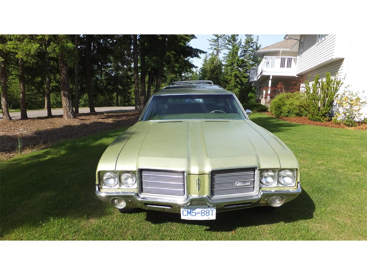 Large Picture of '71 Oldsmobile Vista Cruiser Offered by a Private Seller - LBXI