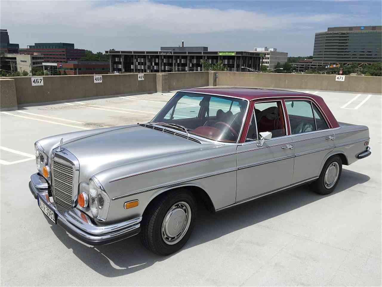 1973 mercedes benz 280se for sale cc for Mercedes benz for sale under 5000