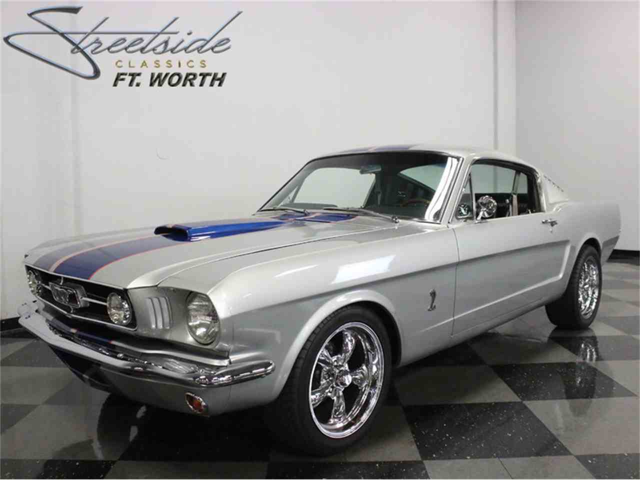 1965 Ford Mustang Fastback Restomod for Sale | ClassicCars.com | CC ...