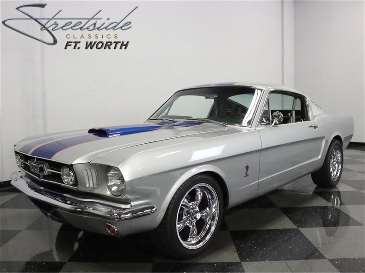 For sale 1965 ford mustang fastback restomod in ft worth texas