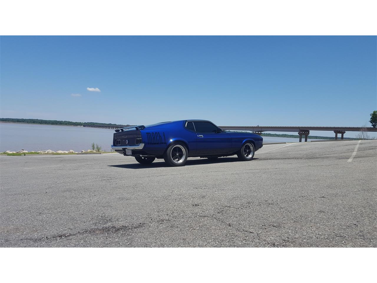 Large Picture of '73 Mustang Mach 1 located in Gordonville Texas Offered by a Private Seller - LBYV