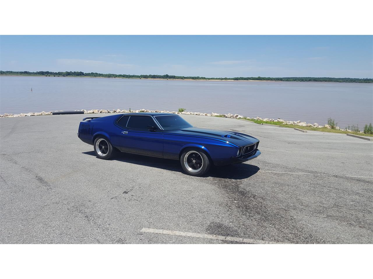 Large Picture of Classic 1973 Ford Mustang Mach 1 located in Gordonville Texas Offered by a Private Seller - LBYV