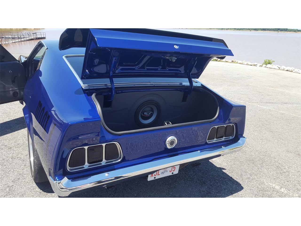 Large Picture of Classic 1973 Mustang Mach 1 located in Texas - LBYV