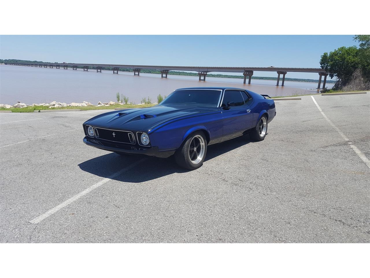 Large Picture of 1973 Mustang Mach 1 - LBYV