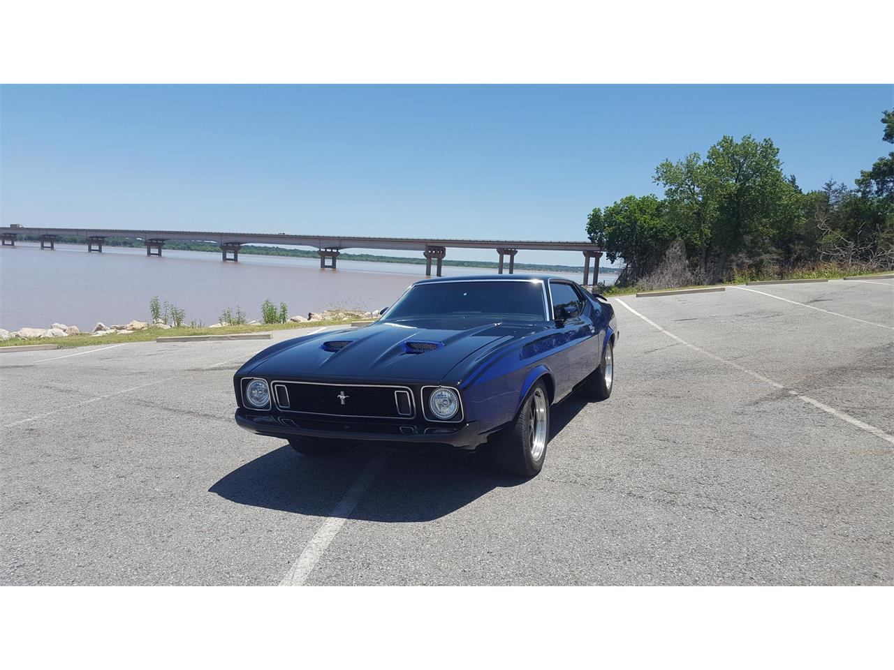 Large Picture of '73 Ford Mustang Mach 1 located in Gordonville Texas - $45,000.00 Offered by a Private Seller - LBYV