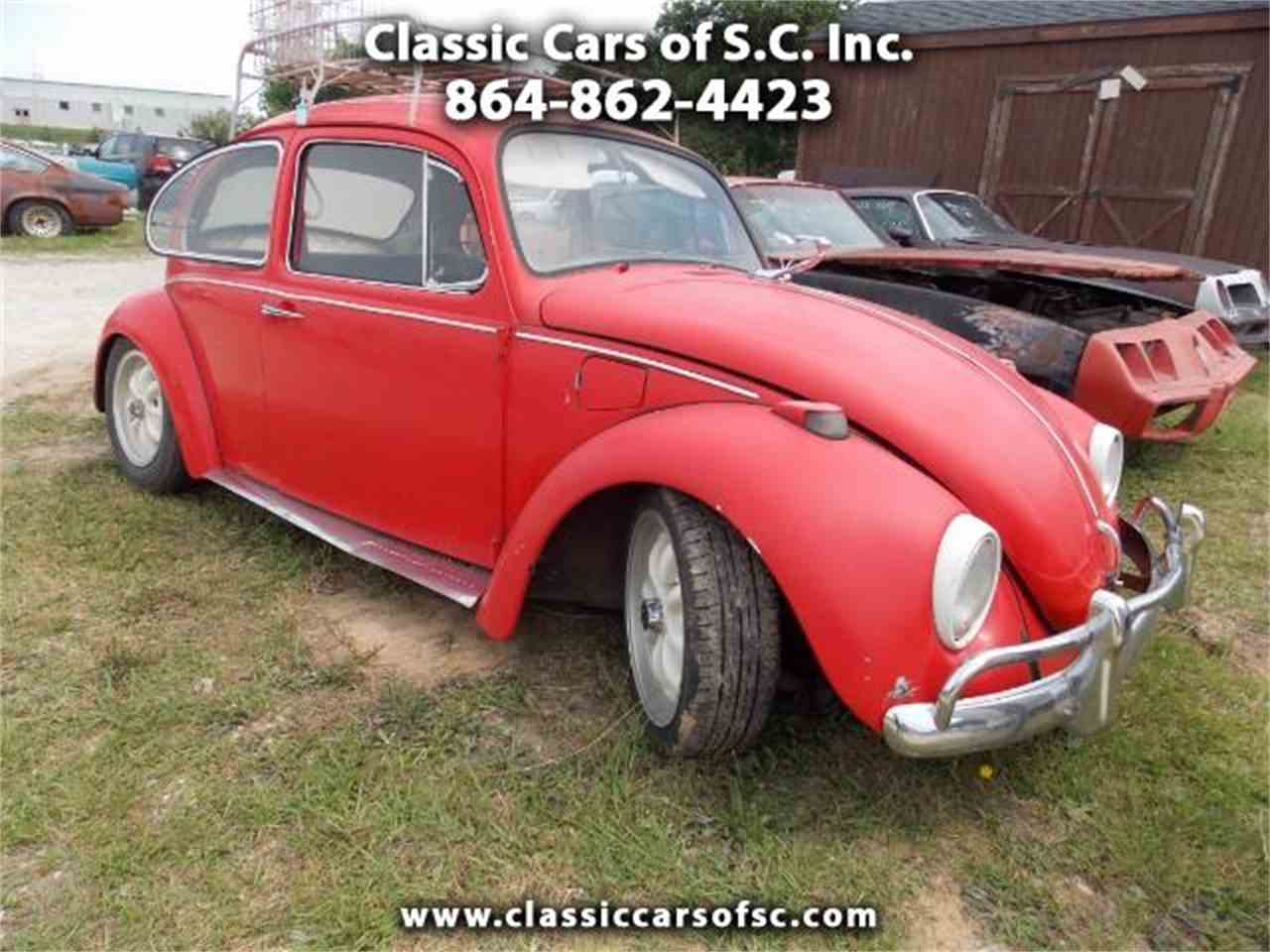 1969 volkswagen beetle for sale cc 995478. Black Bedroom Furniture Sets. Home Design Ideas