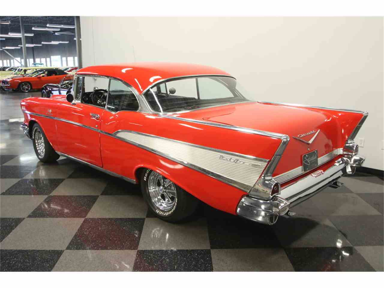 Large Picture of Classic '57 Bel Air located in Lutz Florida Offered by Streetside Classics - Tampa - LC4N
