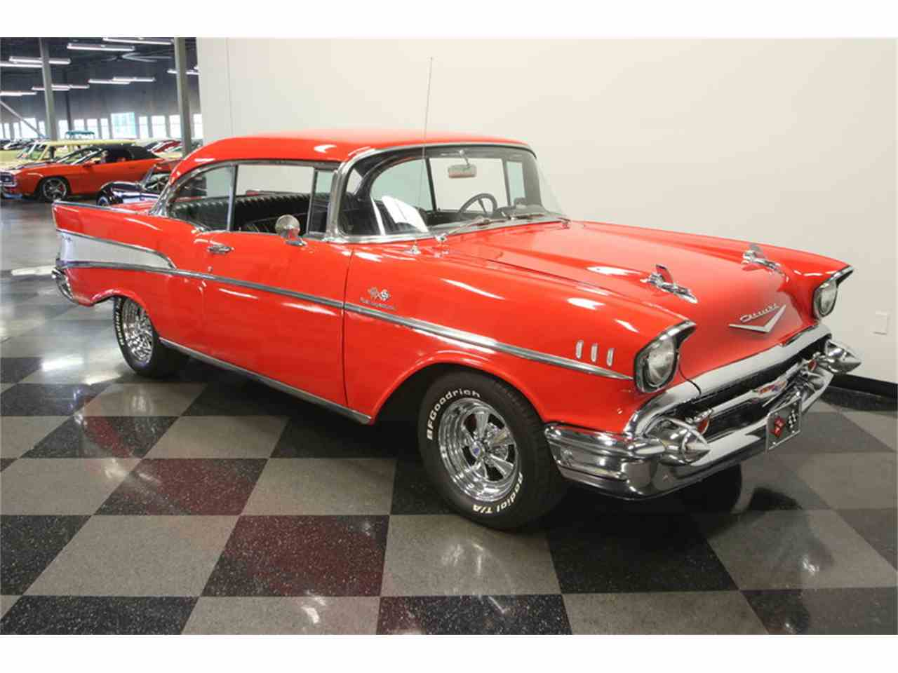 Large Picture of 1957 Chevrolet Bel Air located in Lutz Florida Offered by Streetside Classics - Tampa - LC4N