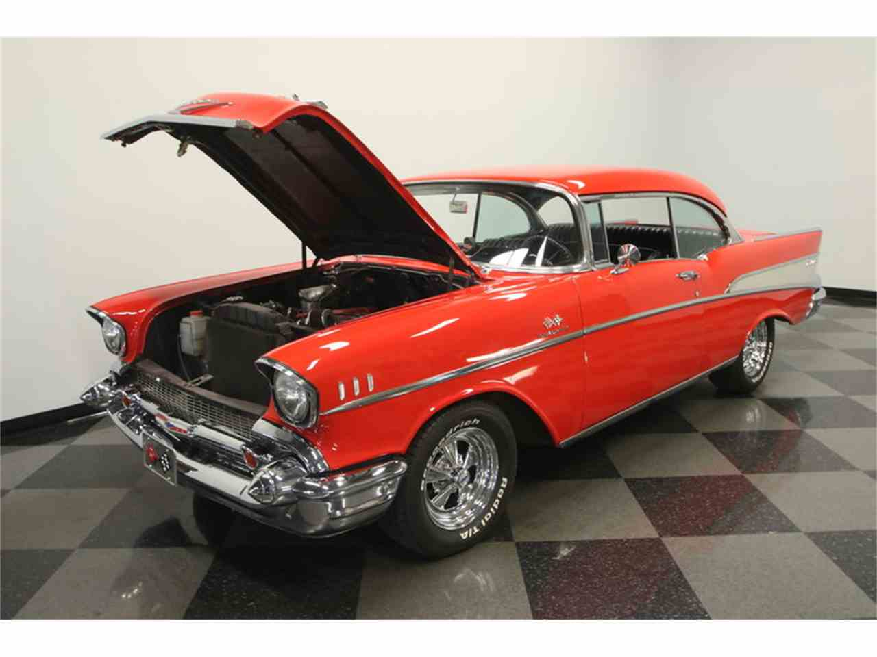 Large Picture of Classic '57 Chevrolet Bel Air located in Florida Offered by Streetside Classics - Tampa - LC4N