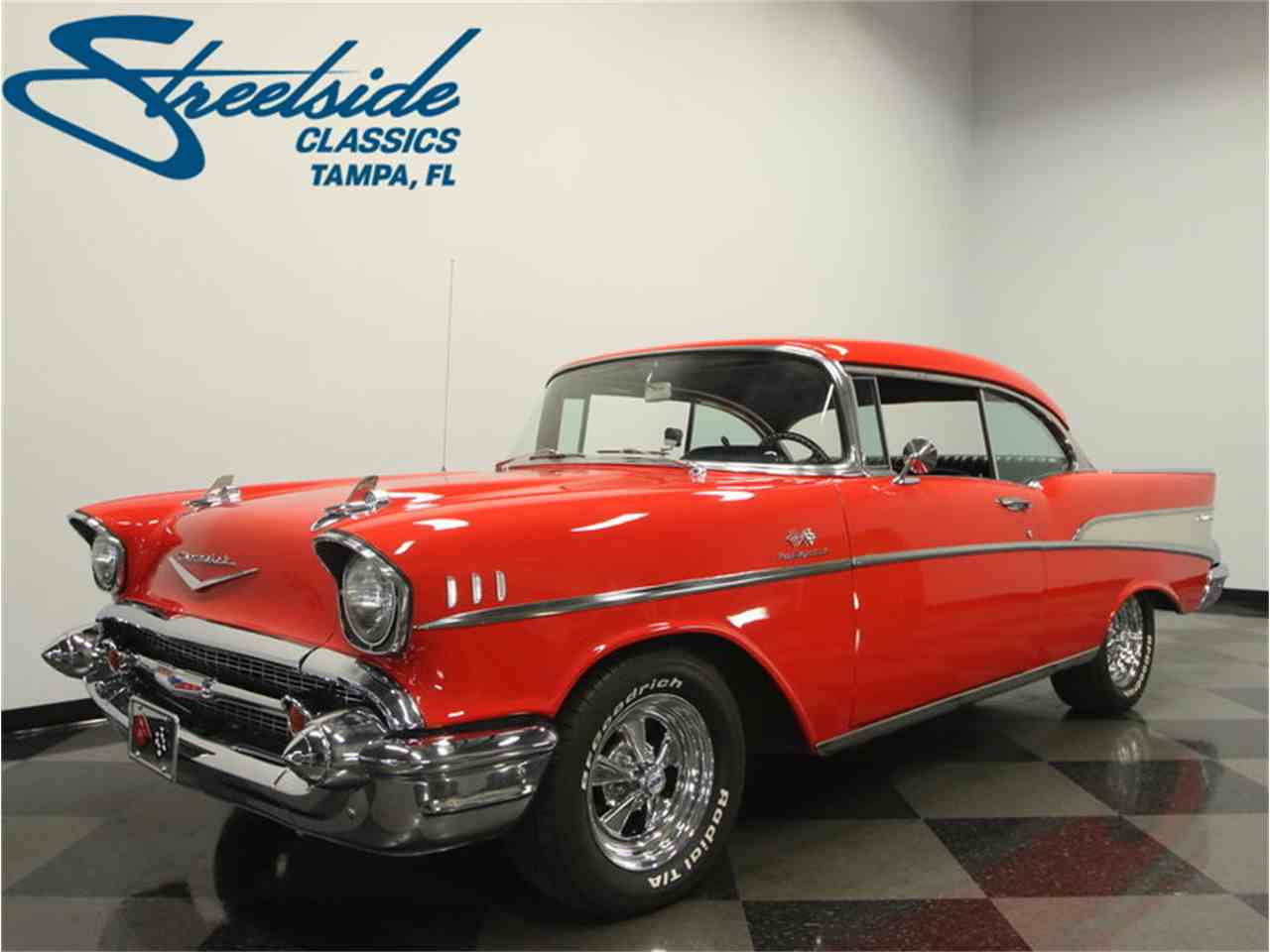 Large Picture of Classic '57 Chevrolet Bel Air located in Lutz Florida - $45,995.00 Offered by Streetside Classics - Tampa - LC4N