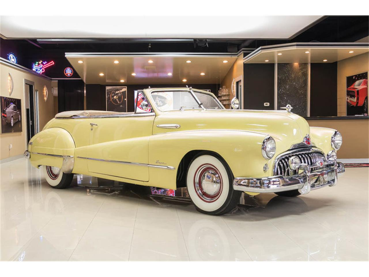 Large Picture of Classic '48 Buick Super located in Plymouth Michigan Offered by Vanguard Motor Sales - LC5K