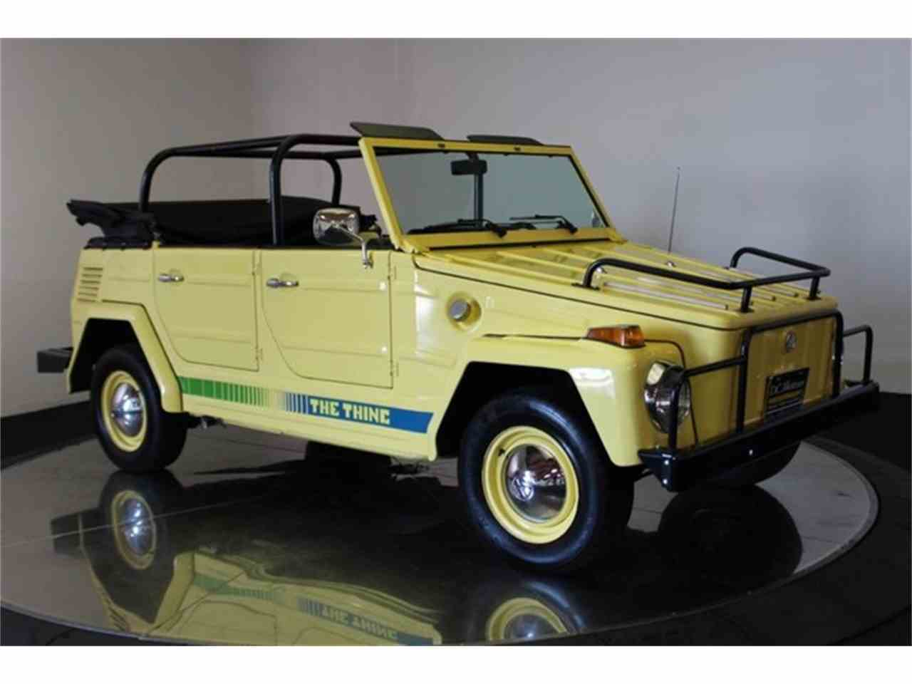 Large Picture of '73 Volkswagen Thing - $32,900.00 Offered by DC Motors - LCFB