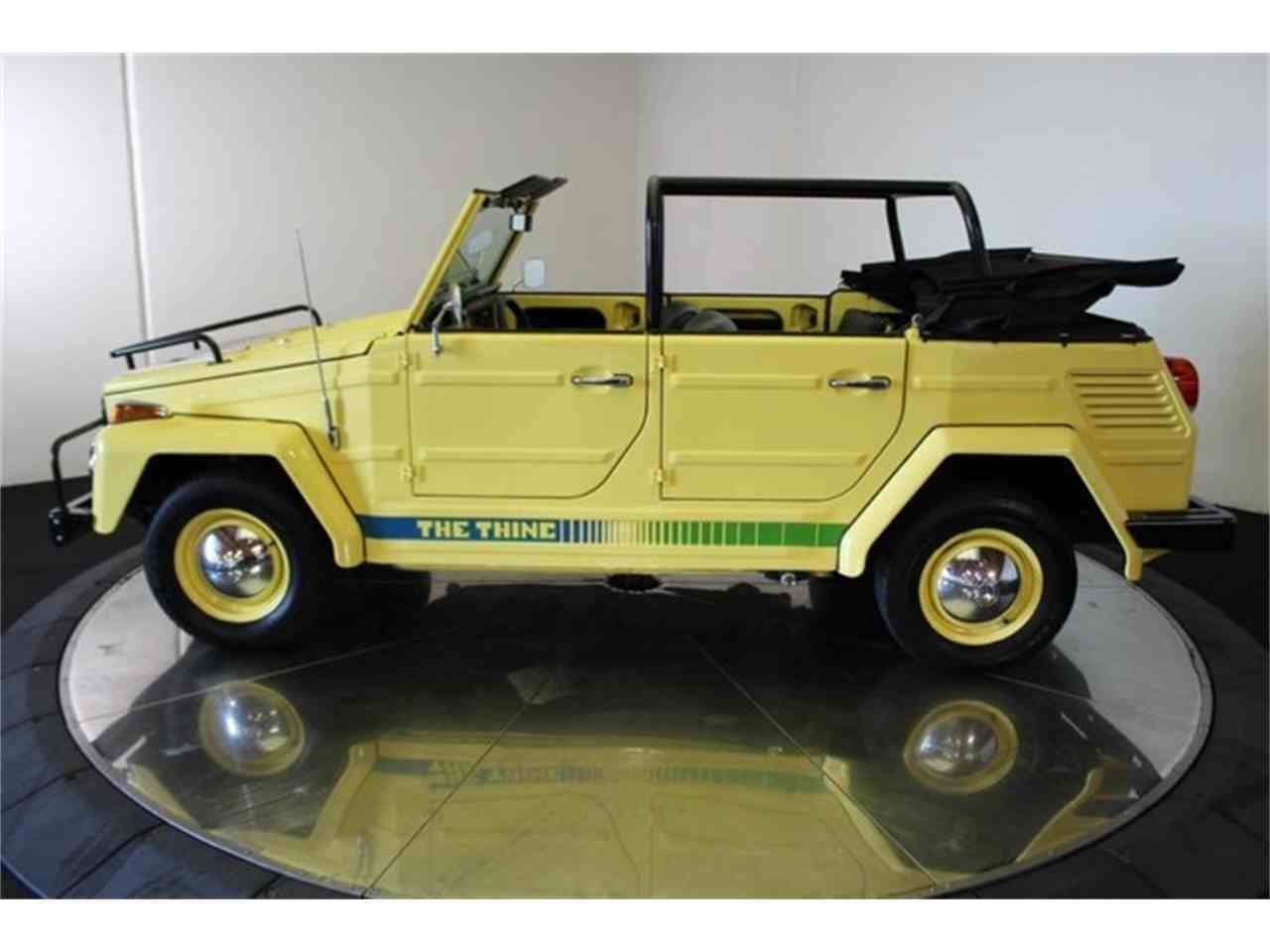 Large Picture of Classic '73 Volkswagen Thing located in California Offered by DC Motors - LCFB