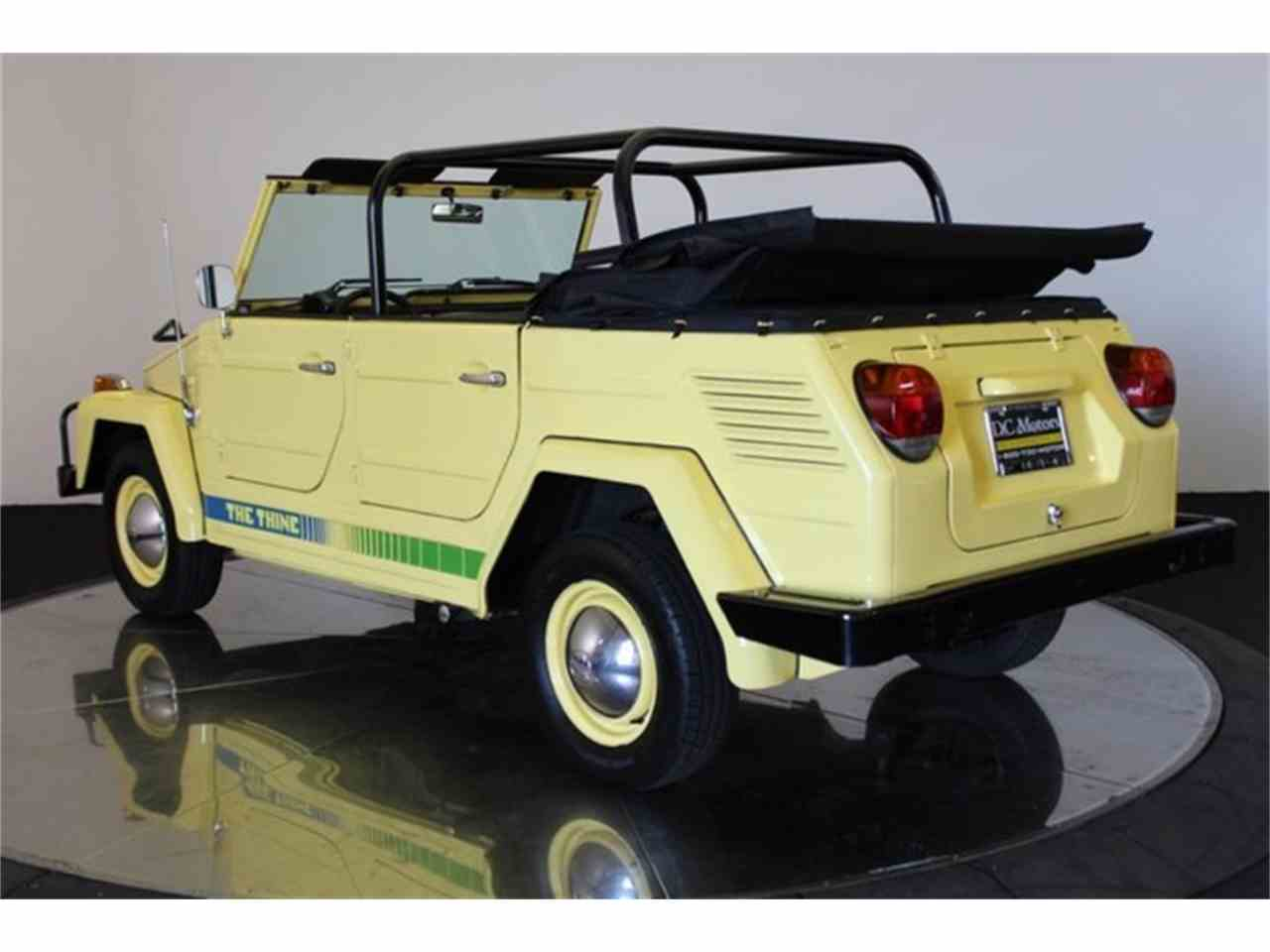 Large Picture of 1973 Volkswagen Thing located in California - $32,900.00 Offered by DC Motors - LCFB