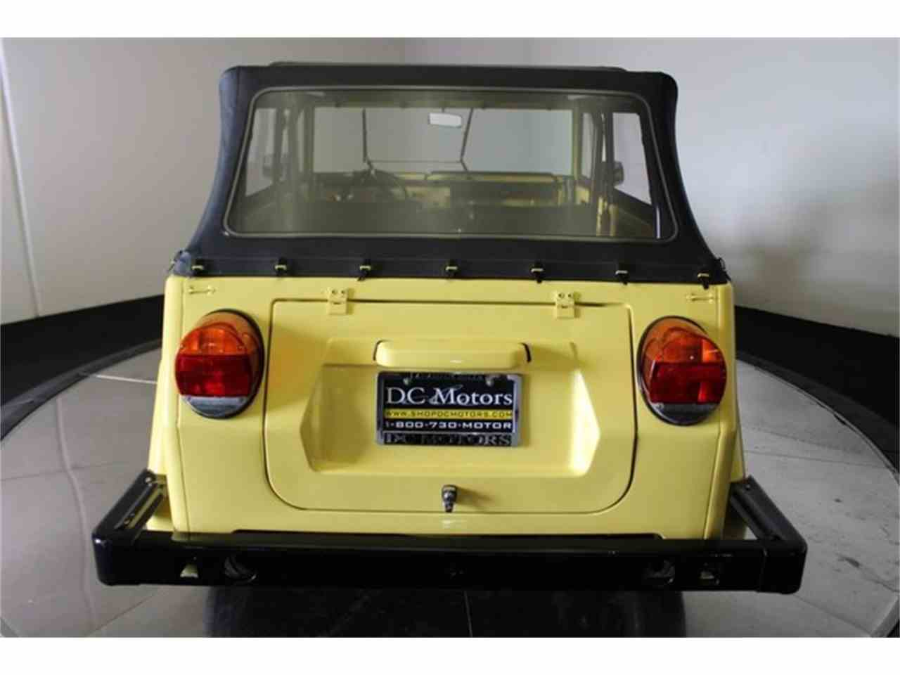 Large Picture of 1973 Volkswagen Thing located in Anaheim California - $32,900.00 - LCFB