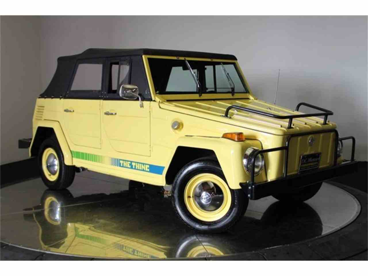 Large Picture of Classic 1973 Volkswagen Thing - $32,900.00 Offered by DC Motors - LCFB