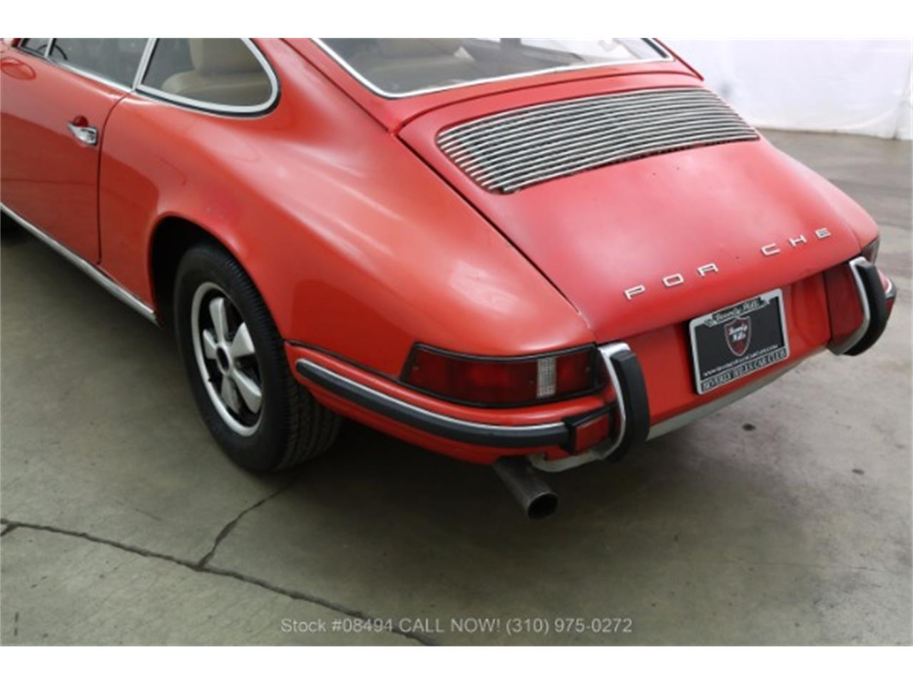 Large Picture of 1969 Porsche 911E located in Beverly Hills California - LCGT