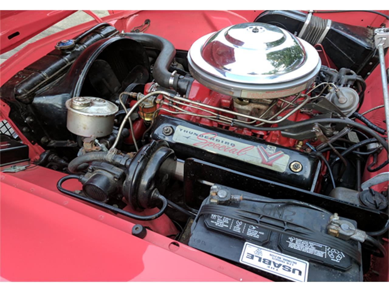 Large Picture of 1956 Ford Thunderbird located in Burlington North Carolina - $36,000.00 Offered by a Private Seller - LCMP