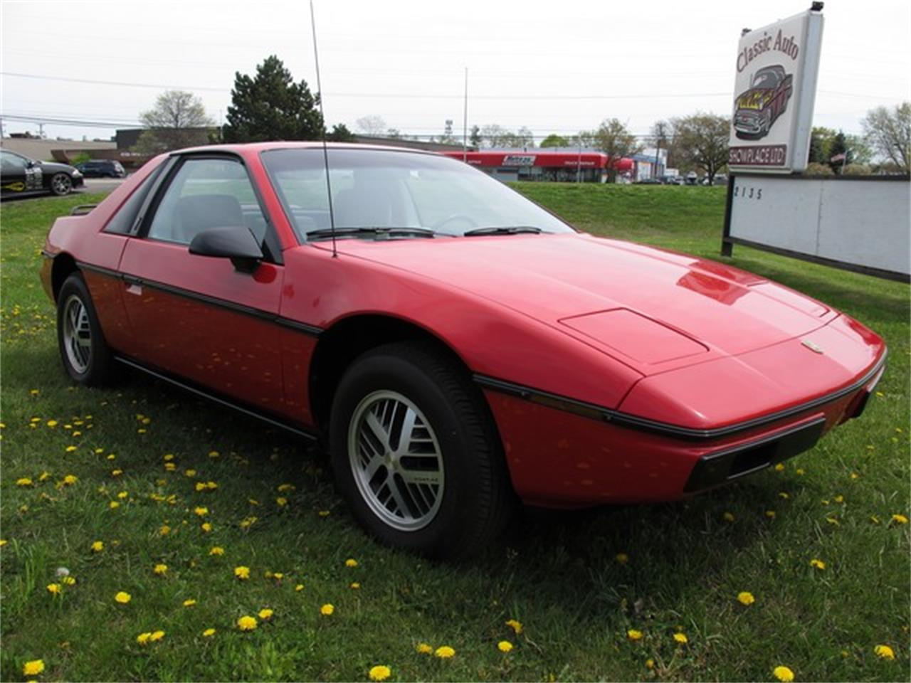 Large Picture of '85 Fiero - LCPK
