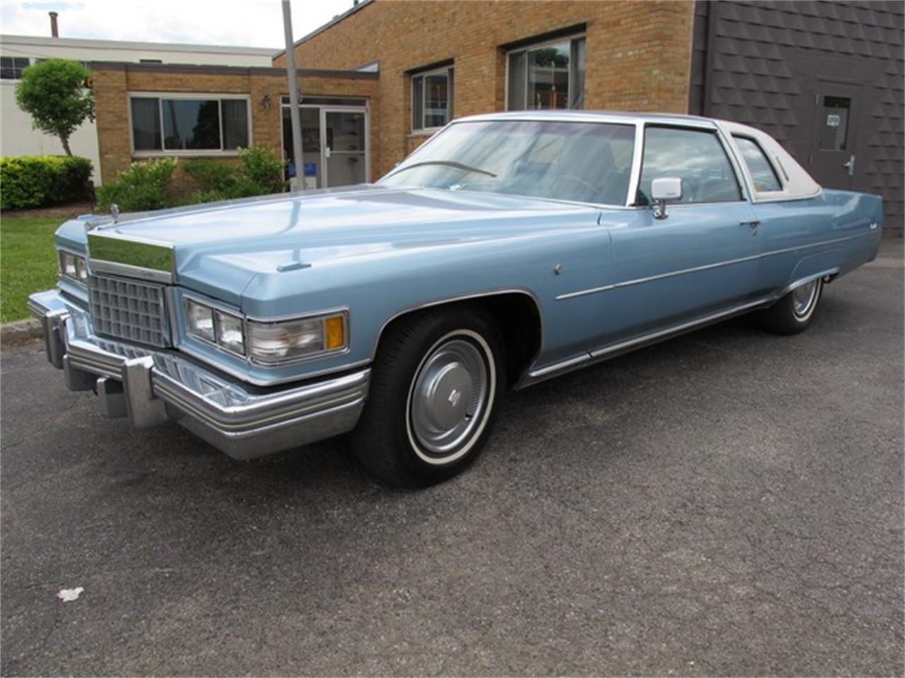 1976 Cadillac Coupe Deville For Sale Classiccars Com