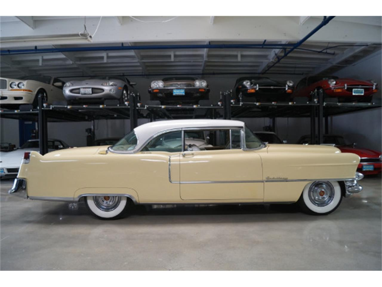 Large Picture of Classic '55 Cadillac Coupe DeVille located in Santa Monica California Auction Vehicle - LCU9